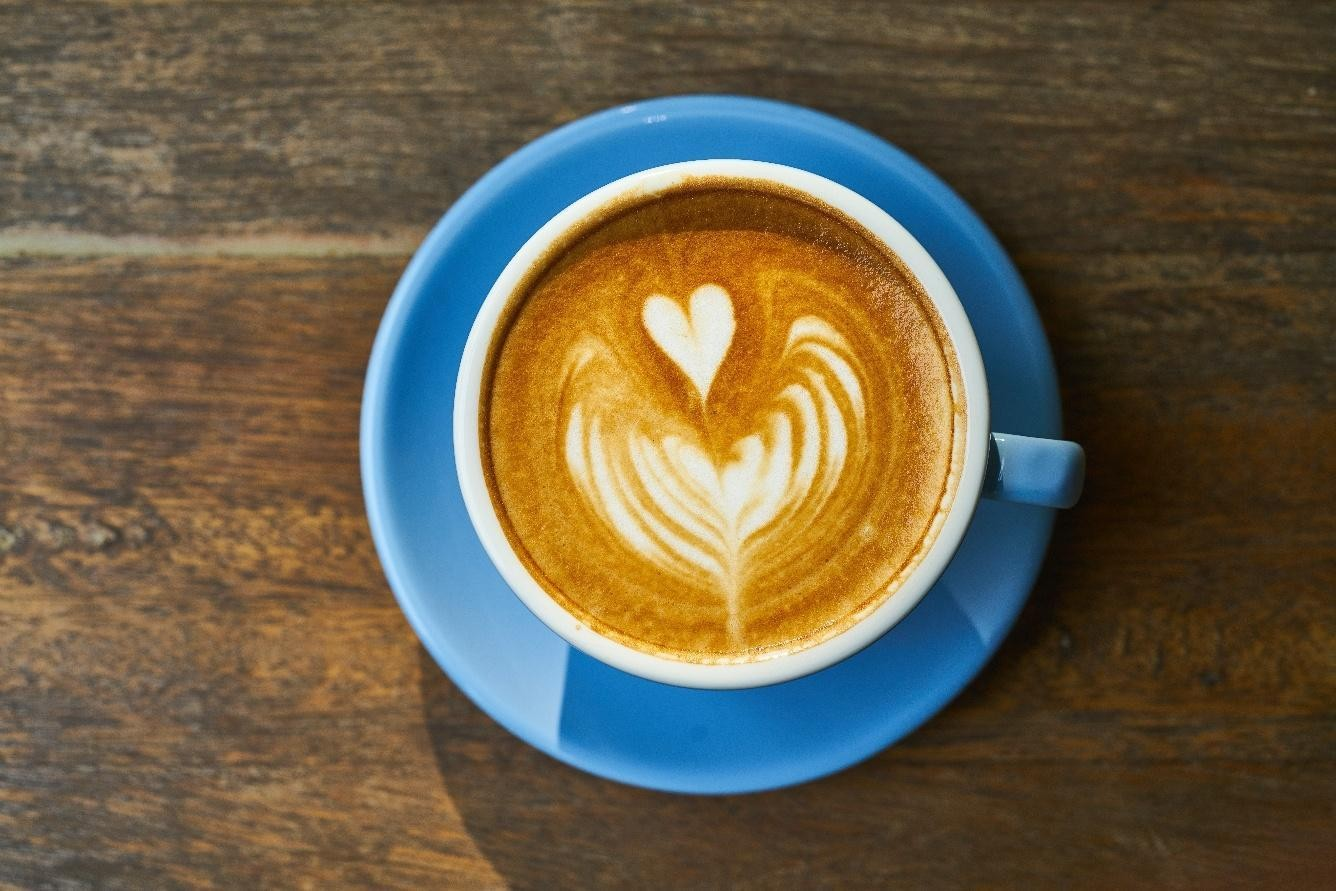 a cup of turmeric milk golden milk