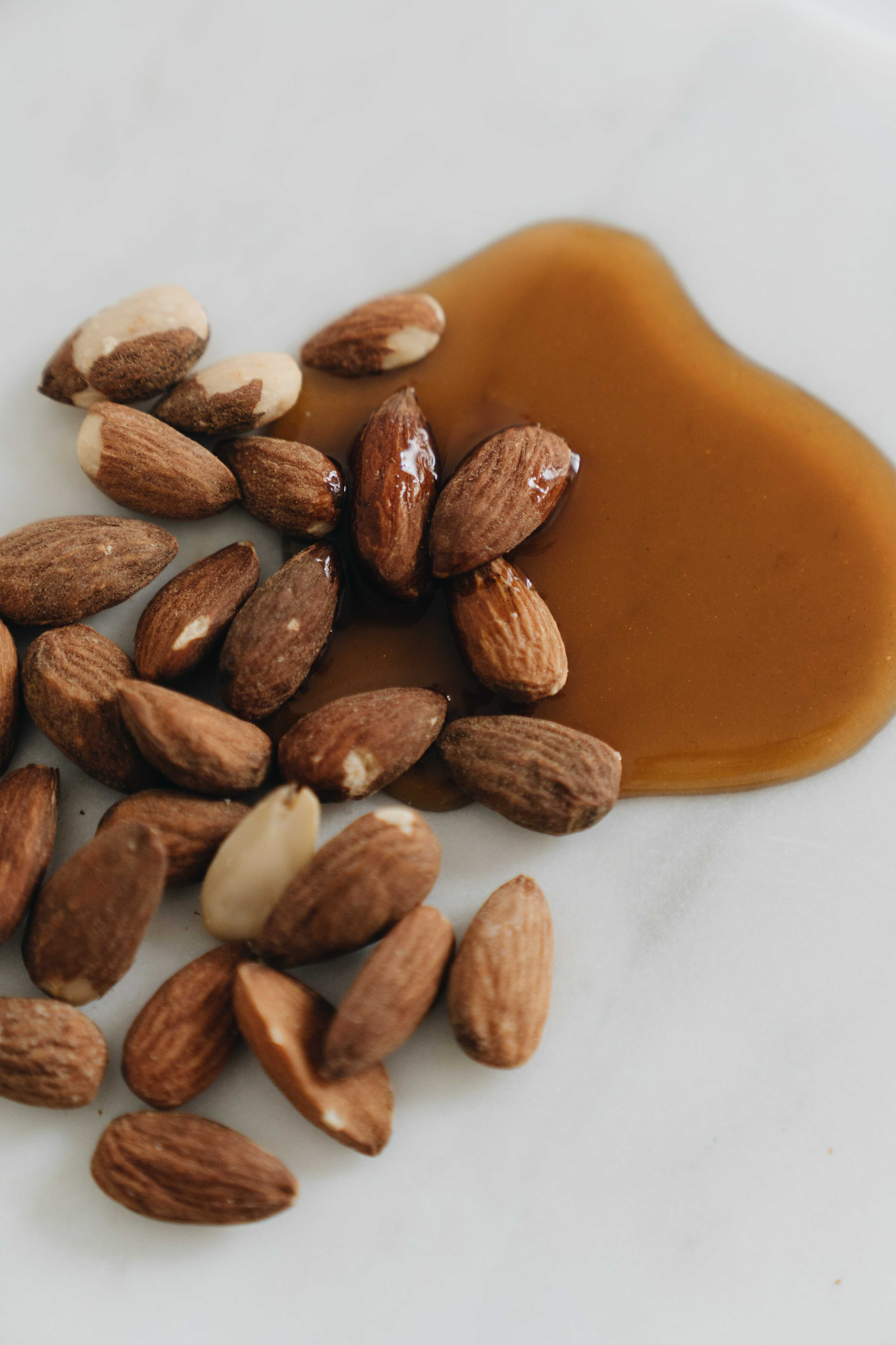 almond oil and nuts