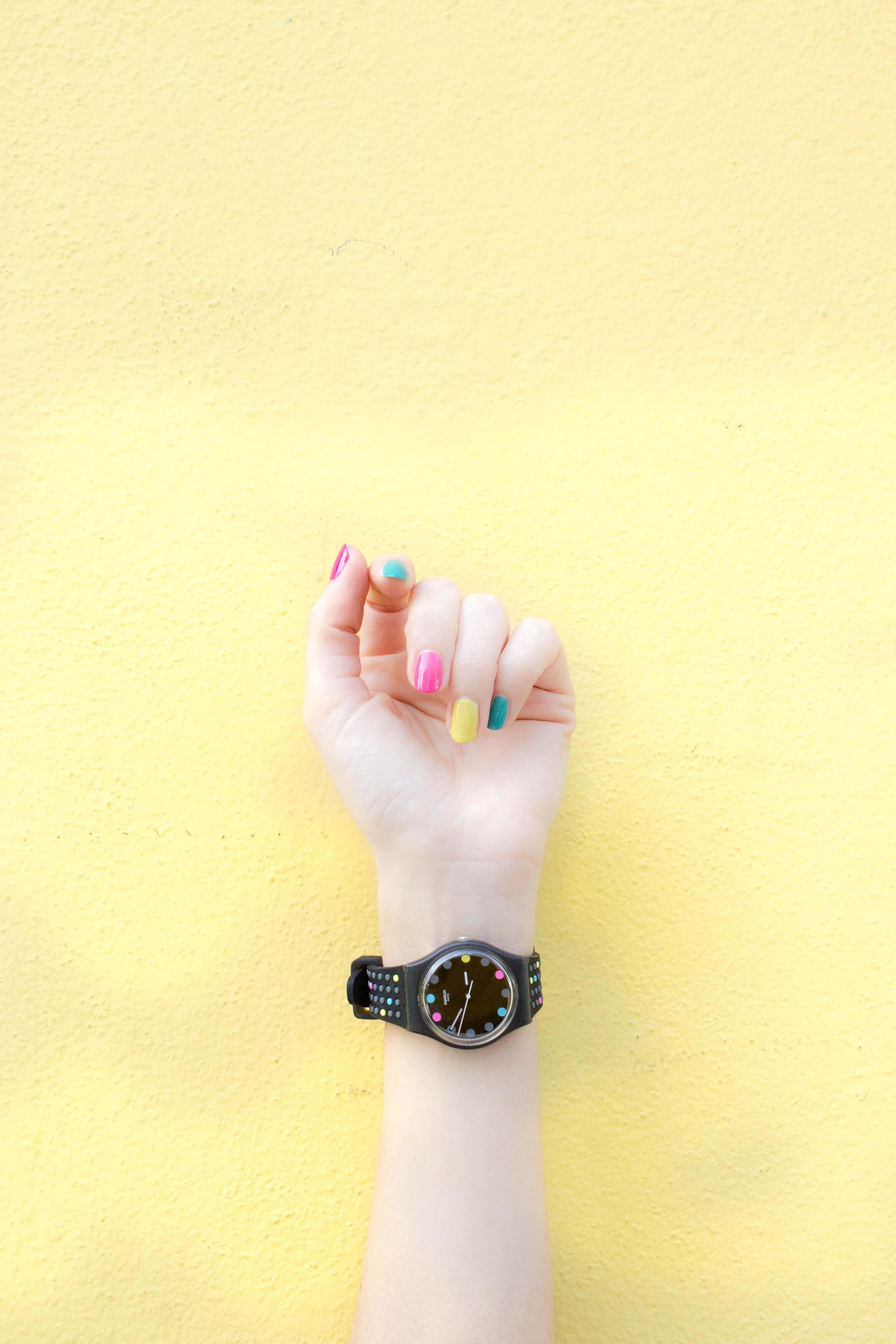Natural nail polish color