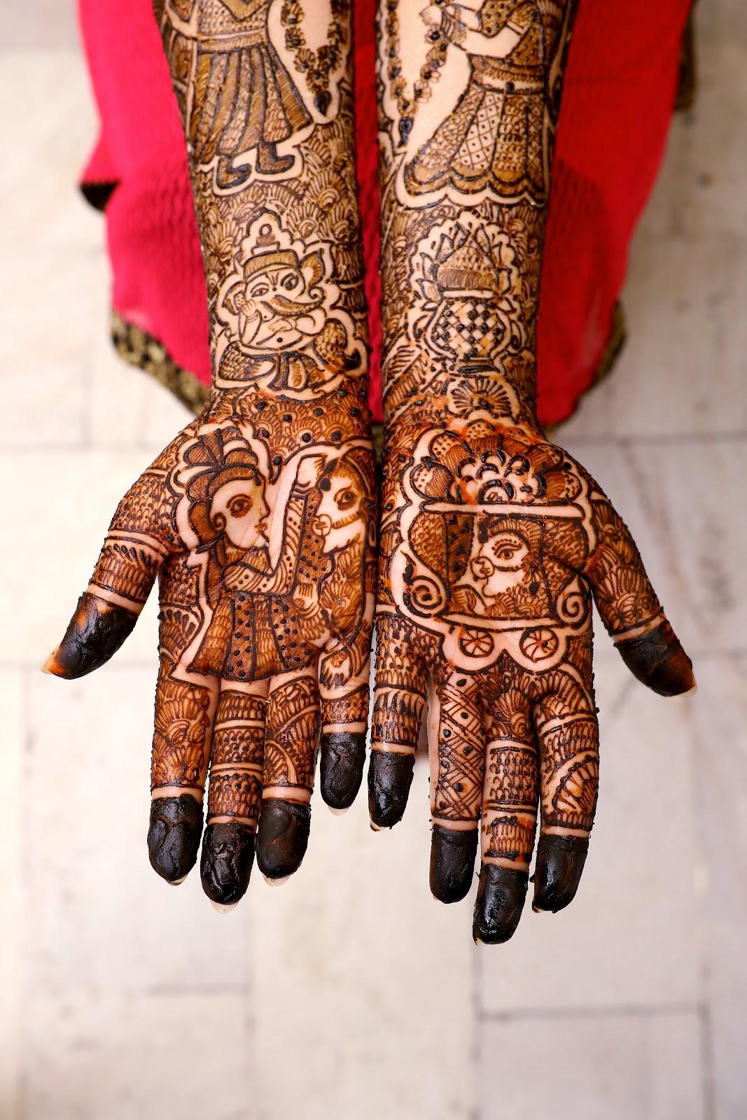 Simple henna designs