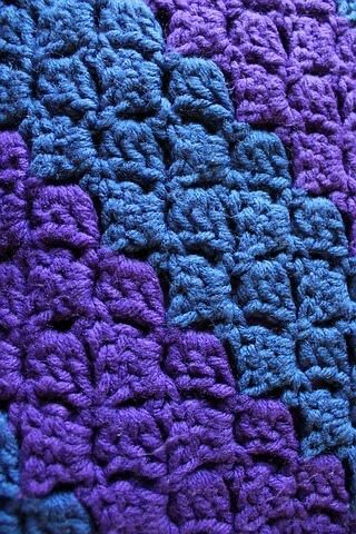 double crochet stitches