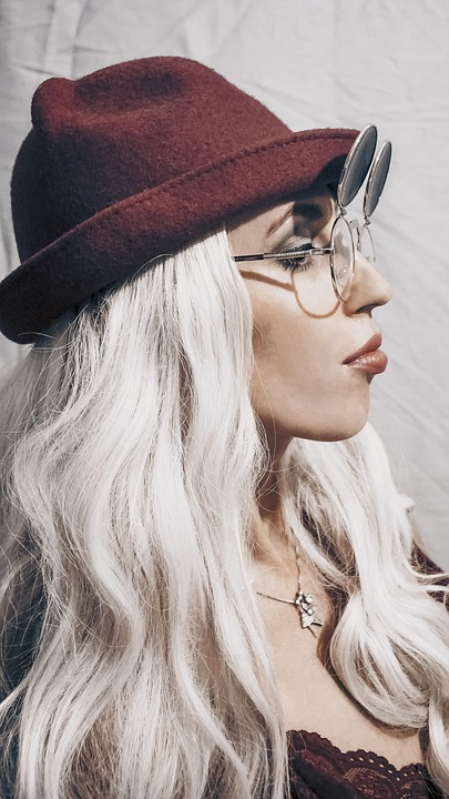 platinum blond