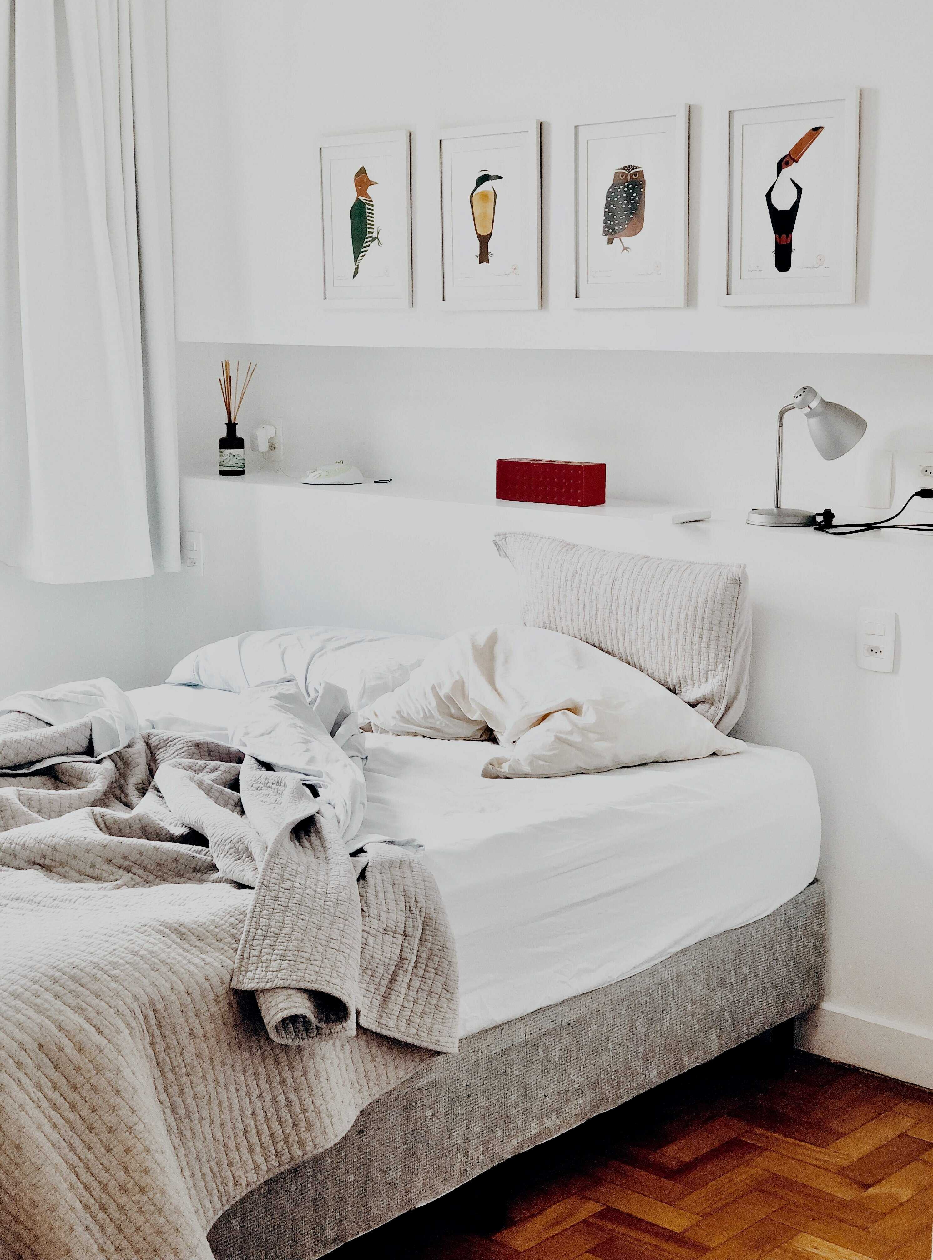 a white bedroom