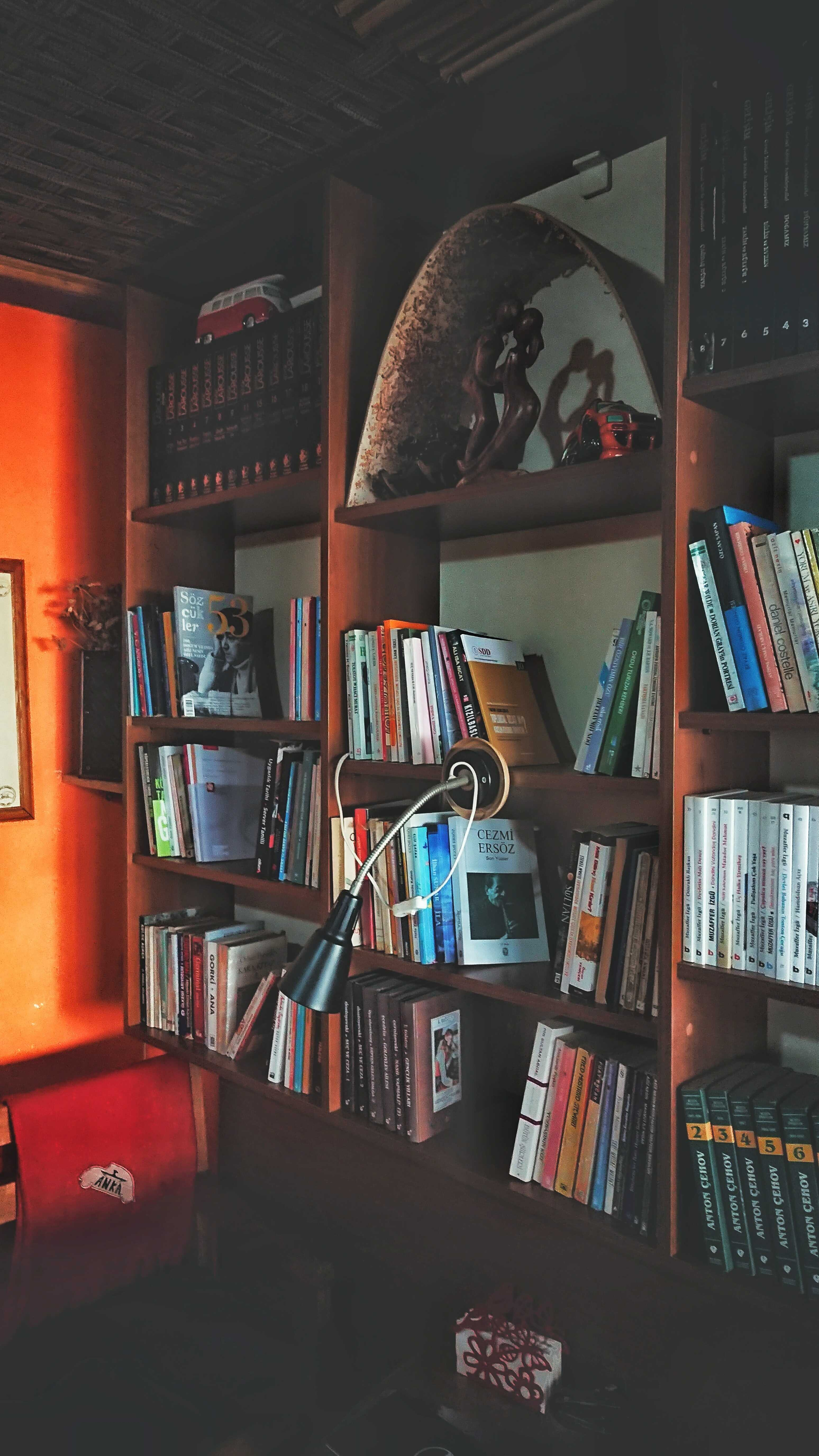 a library design for home