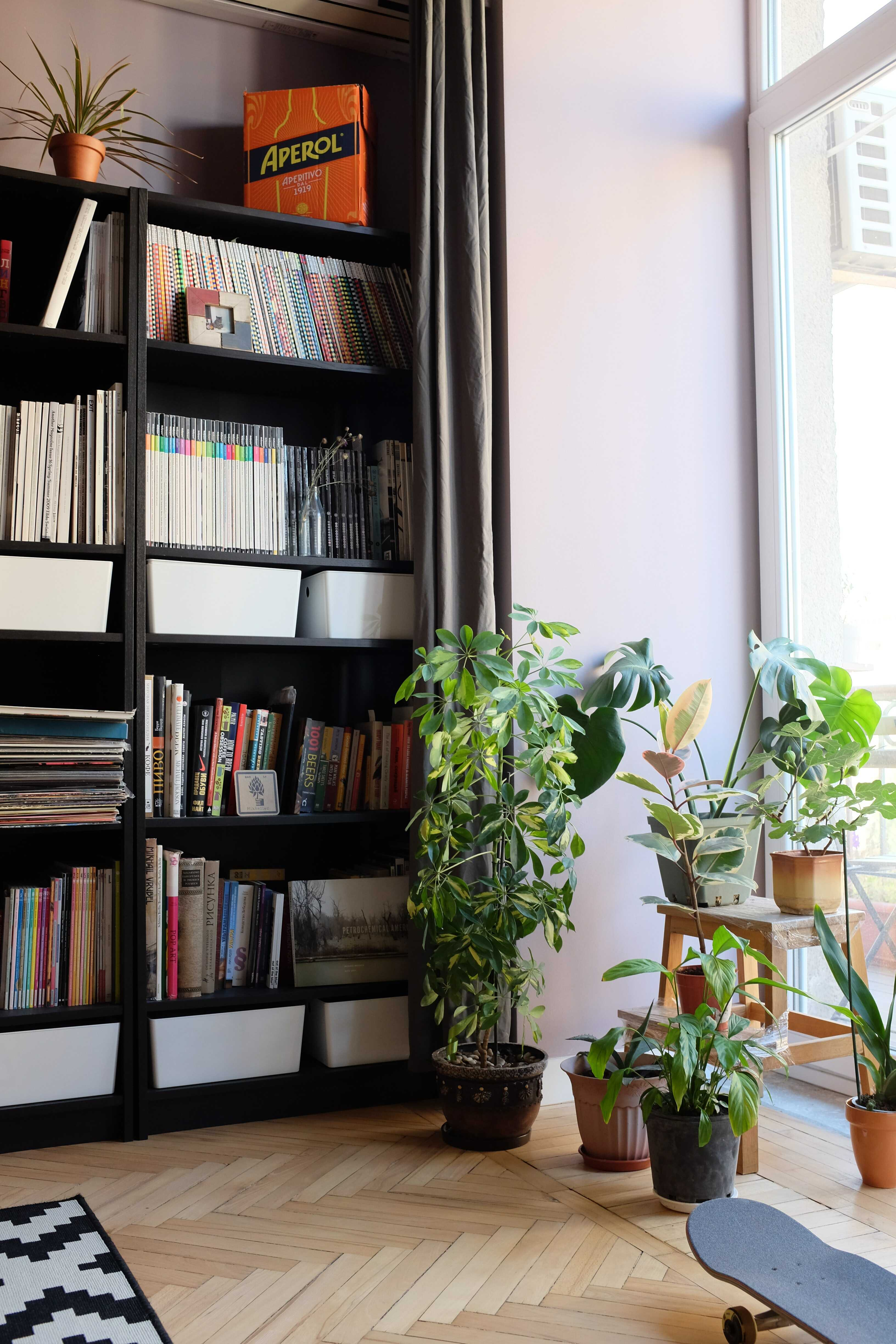 a library home
