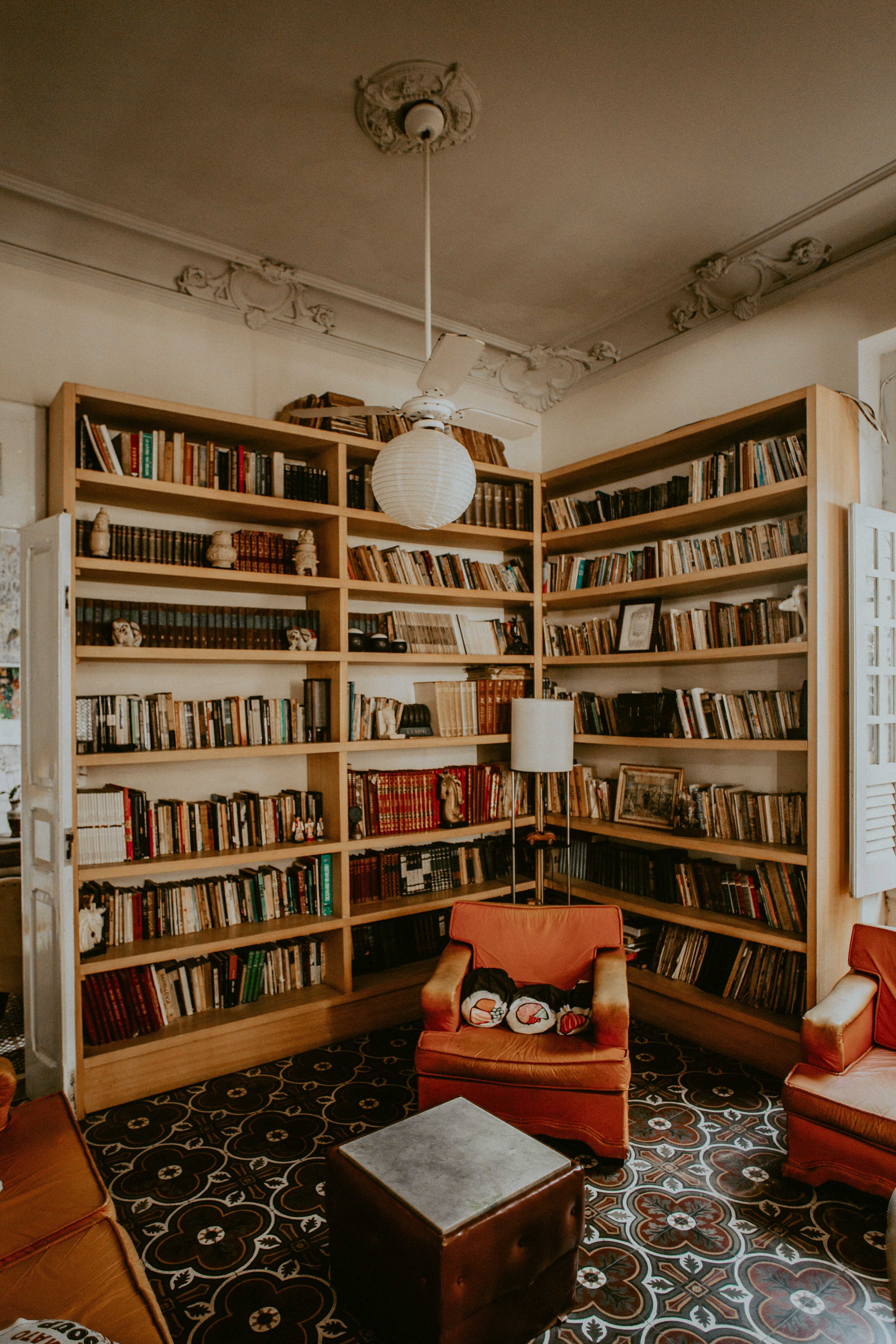 a small home library