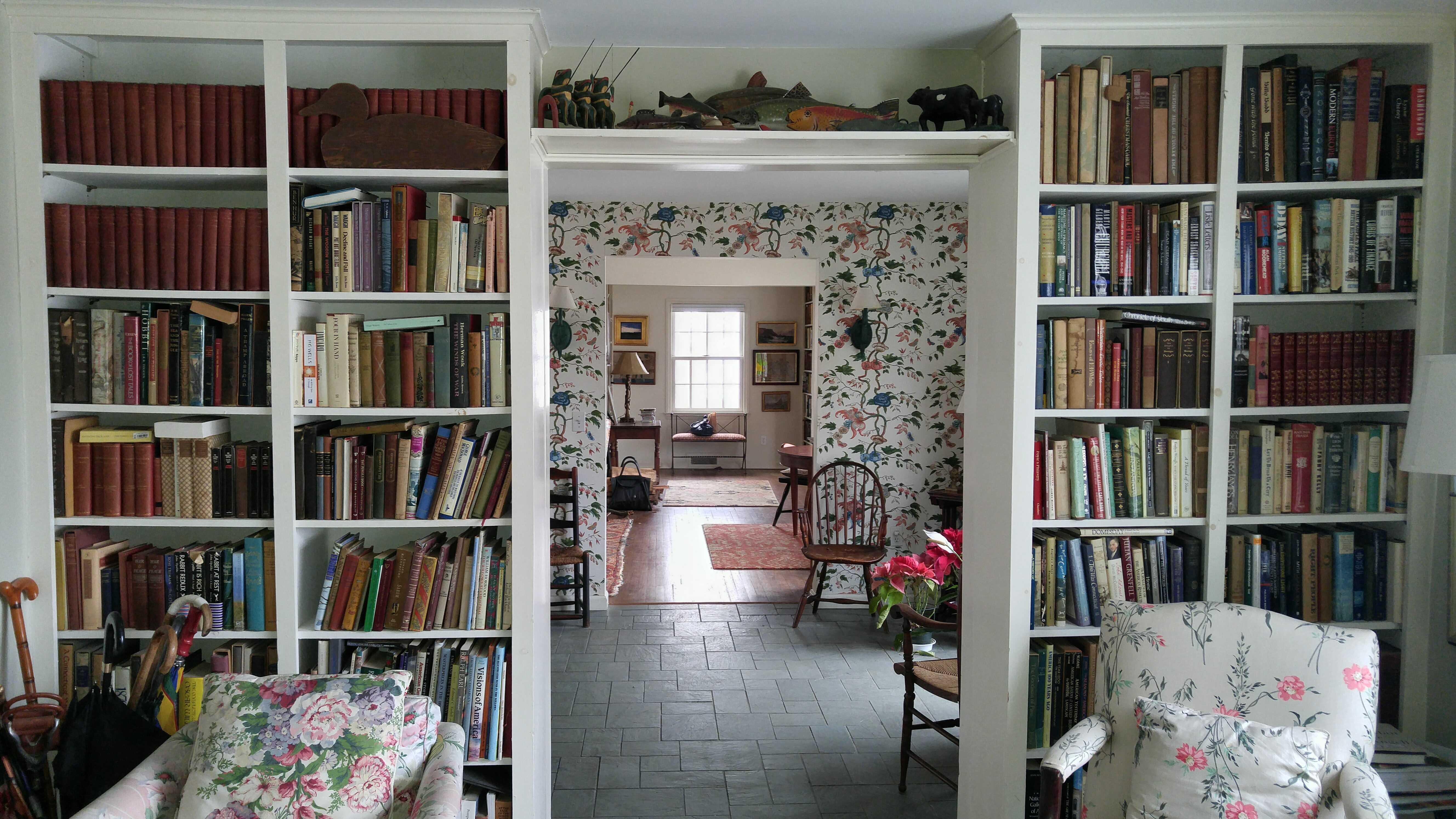 a book shelves