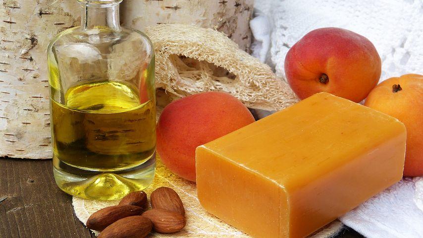 sweet almond oil on scalp