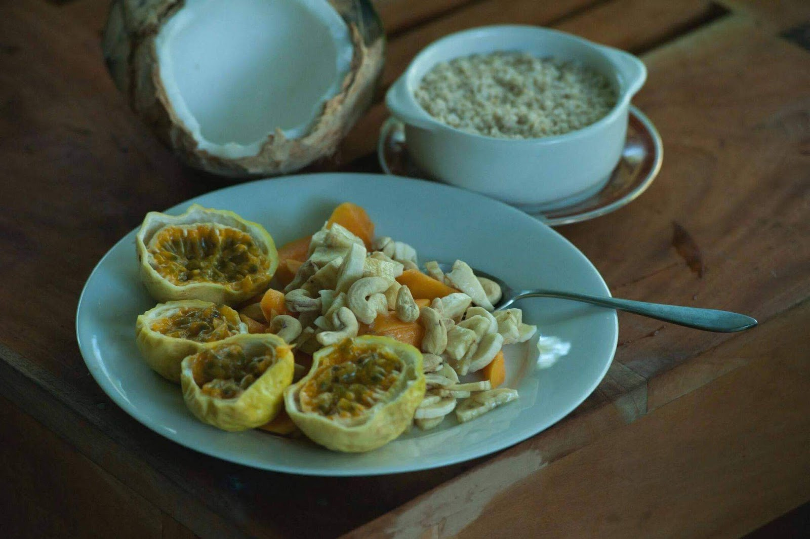 coconut oil nutrition info