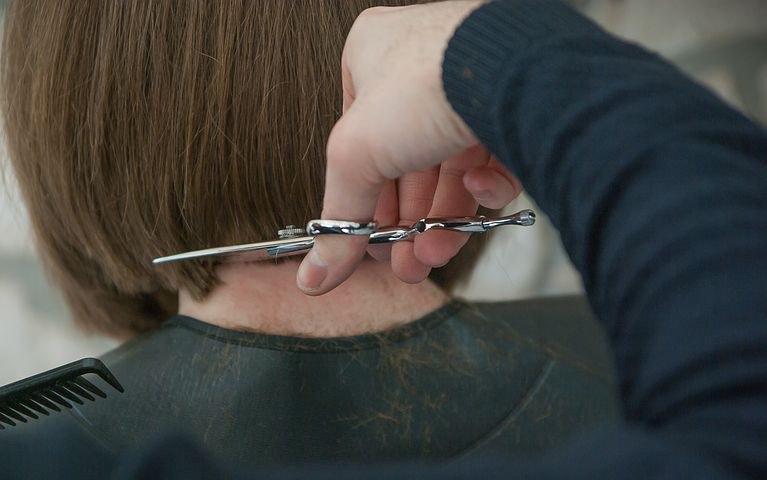 razor hair scissors